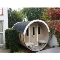 Barrel sauna 300cm lengte 220Ø
