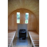Barrel sauna 200cm lengte, 190cmØ
