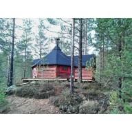 Finse grillkota 16.5 m2 met uitbouw
