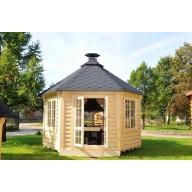 Paviljoen met grill 9.2 m2
