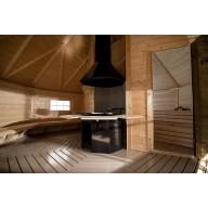 Finse grill- en saunakota 16.5 m2