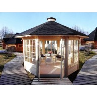 summerhouse , 10m2 met grote ramen