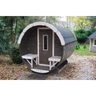 Barrel sauna 300cm lengte 190Ø