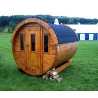 Barrel sauna 200cm lengte, thermo wood