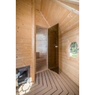 Saunakota 9.2 m2 met kleedruimte